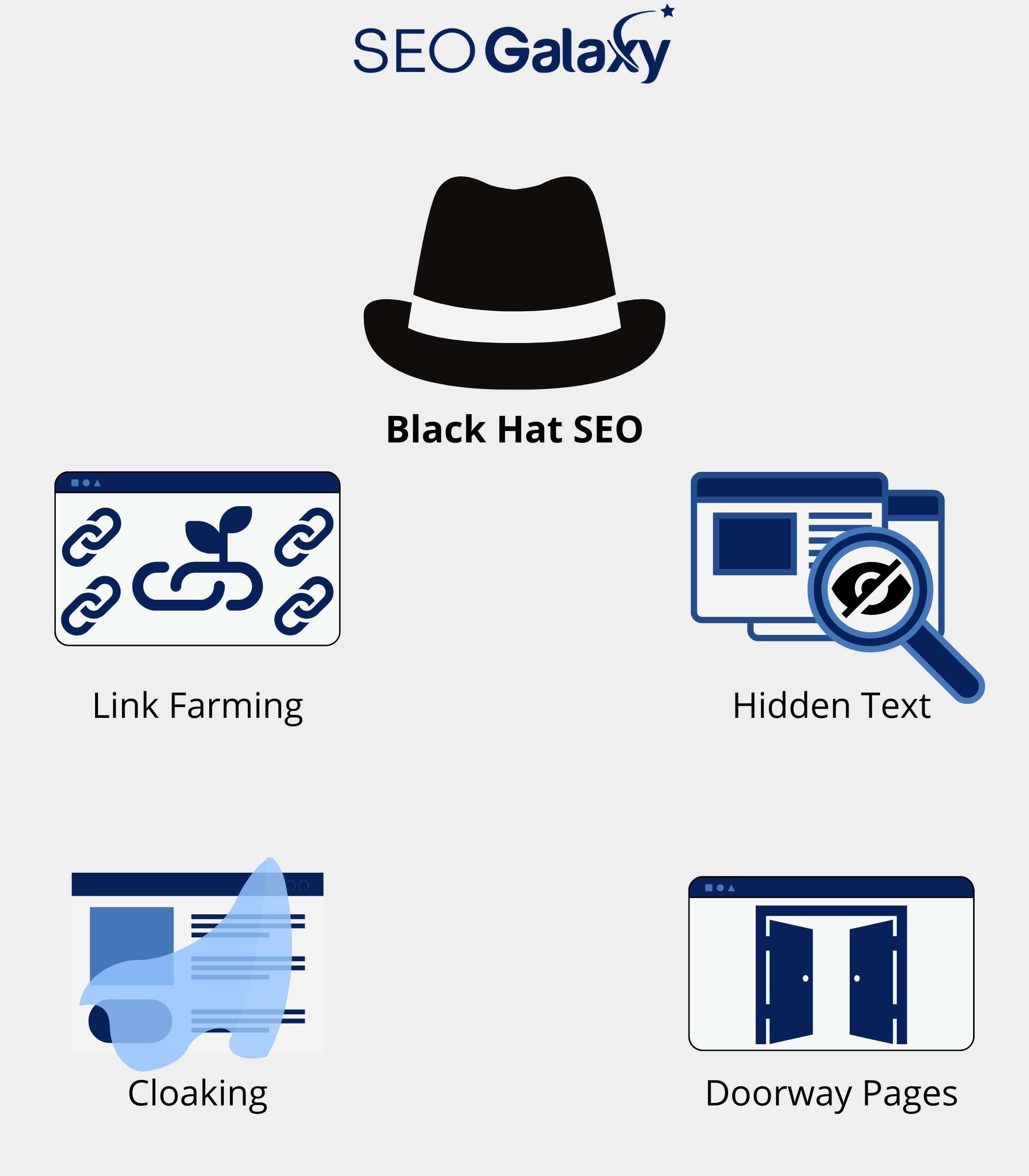 Black Hat SEO Grafik